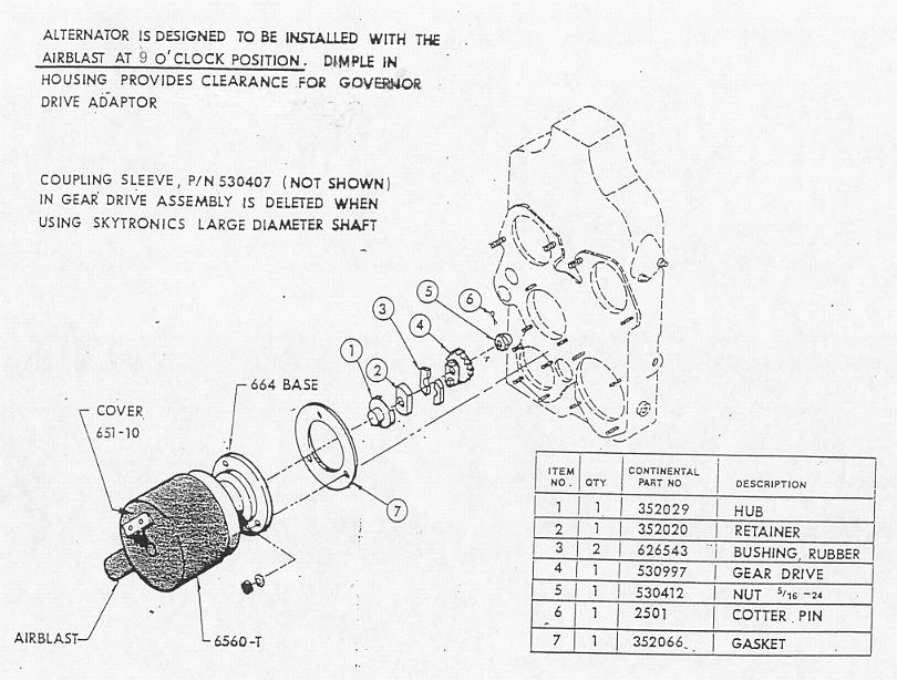 Jasco Alternator Diagram